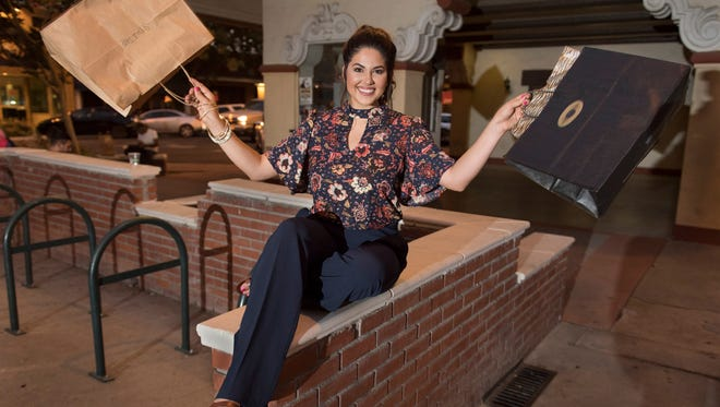 Danielle Martin is the Visalia Times-Delta's Downtown Diva on Tuesday, July 26, 2016.
