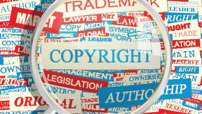 Many people have little understanding of what is and isn't copyrighted material.