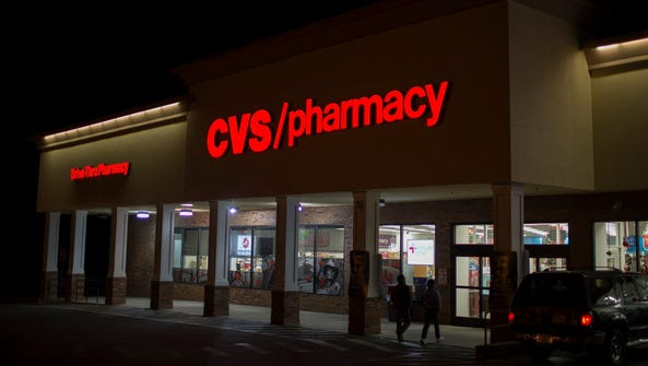 CVS wants to acquire health insurer Aetna.