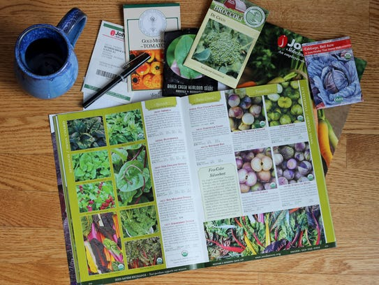 Ordering from seed catalogs helps you think through