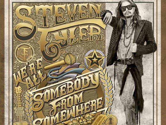 Steven Tyler's solo debut, 'We're All Somebody From