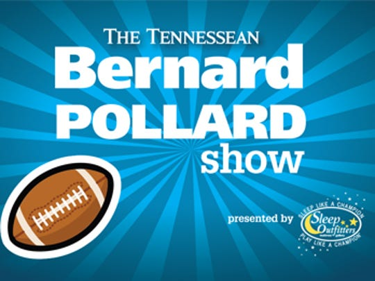 The Tennessean's Bernard Pollard Show, presented by Sleep Outfitters.
