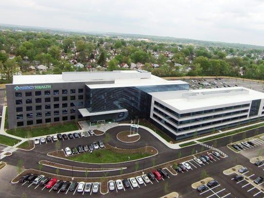 Mercy Health's headquarters in Bond Hill.