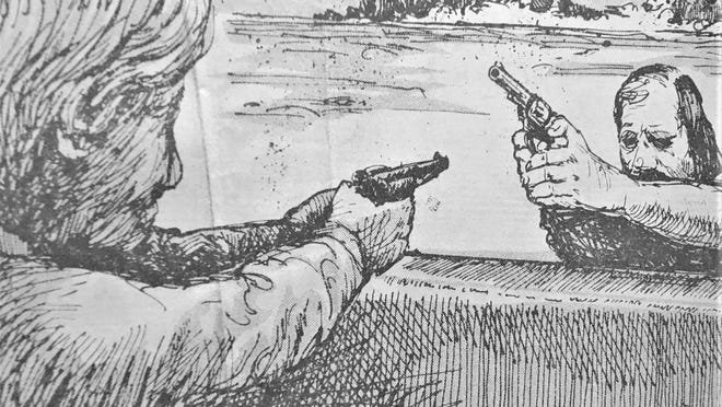 Gunplay was getting out of hand in 1905.