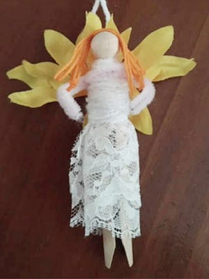 The Carriage Factory Gallery is offering a holiday event for families -- a take-home kit and internet-based class for making craft dolls out of clothespins.