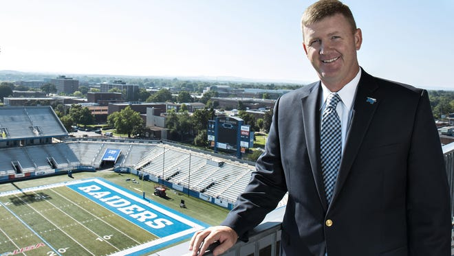 MTSU's Whit Turnbow is still collecting coats for his annual coat drive.