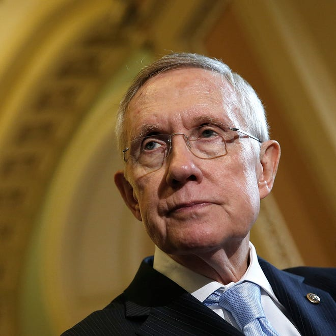 Senate Majority Leader Harry Reid, D-Nev., will remain leader if Democrats maintain Senate control.