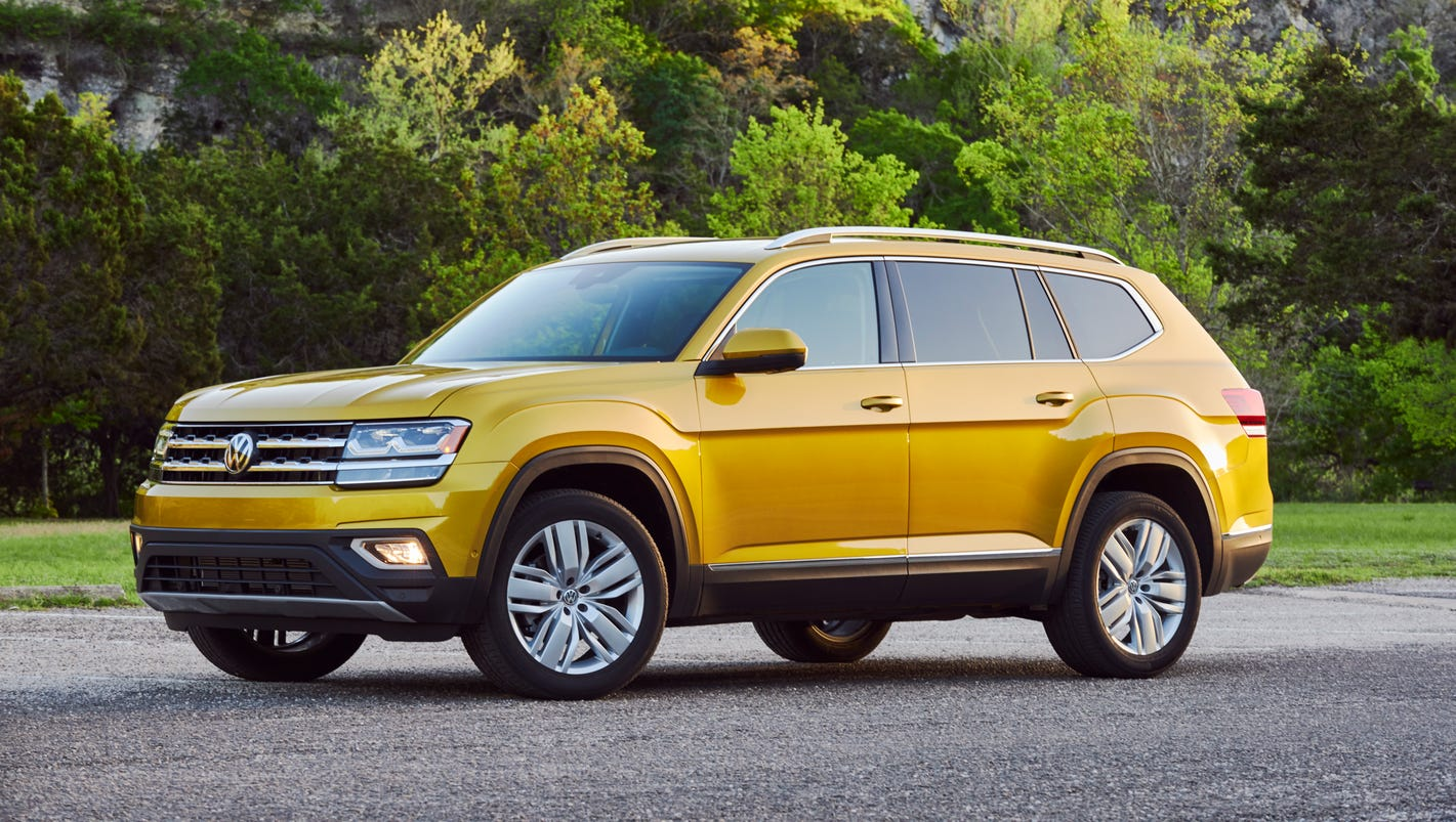 vw atlas    german    american family suv