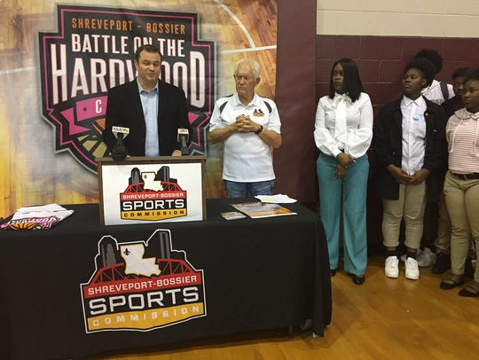 The Shreveport-Bossier Sports Commission's John Cordaro