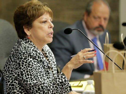 El Paso city Rep. Emma Acosta