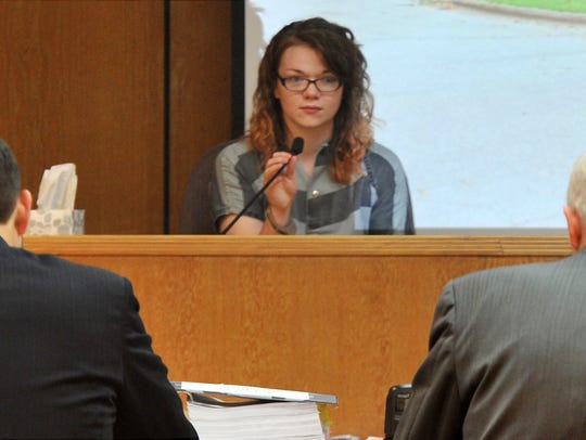 Whitney Mercedes O'Brien testified Tuesday during the