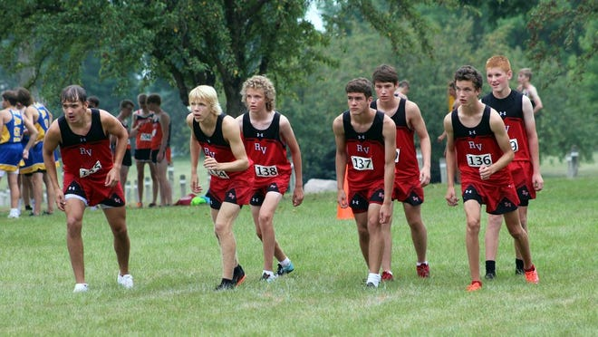 The Redwood Valley boys cross country team earned a first-place finish Thursday at a triangular in Pipestone. The Cards host a home meet Oct. 1.