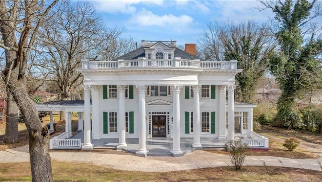 The James Heyward Hull house was recently put on the market for $800,000.