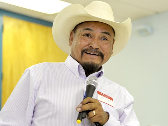 Tom Chee of the Shiprock Chapter is one of 19 candidate who have filed to run for president of the Navajo Nation.