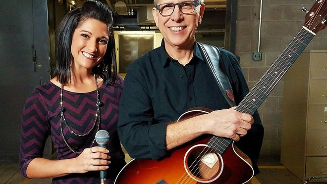 Kayti Stadler and Scott Campbell of SASS Acoustics will perform Saturday at 6 p.m. at the Colony Pub, 2670 W. Eighth St.
