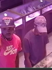 PPD is searching for two suspects who stole a Rolex from a Palafox Street business June 8, 2018.