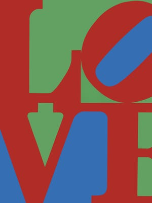 Robert Indiana (American, b. 1928) LOVE, 1967 screenprint 34 x 34 in. (image) 36 x 36 in. (sheet)