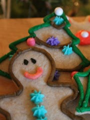Sugar cutout cookies are a blank canvas for artists with pastry bags. Using a home made butter cream recipe, Molly Krause's artistic skills earned the top spot for best sugar cookie presentation.