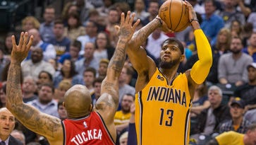 How Larry Bird's departure affects Paul George's future with Pacers