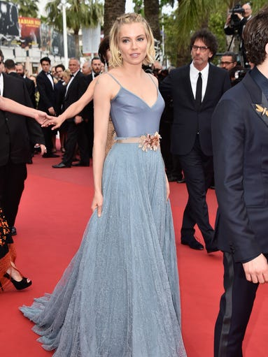 HOT: Sienna Miller attends the closing ceremony and