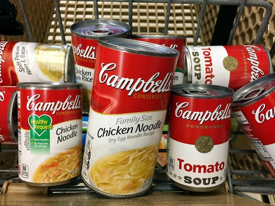 Campbell Soup Co. is seeking to restore its finances after sales and earnings fell in its latest fiscal year.