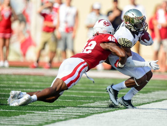 Wake Forest Demon Deacons wide receiver Chuck Wade