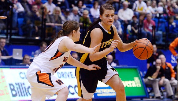 Macy Miller helped lead Mitchell to three consecutive