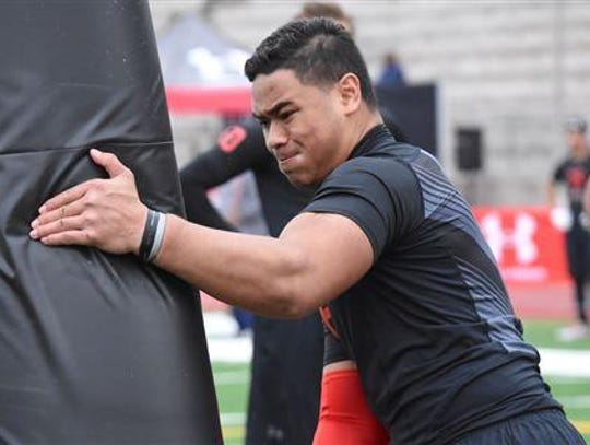 Tennessee Pututau from Salt Lake City East likely remains