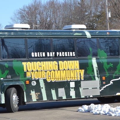 The Packers Tailgate Tour is coming to Sheboygan for the first time on April 18.