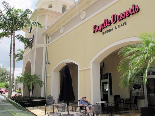 Angelic Desserts bakery and cafe recently opened next to Pei Wei Asian Diner in the Galleria Shoppes at Vanderbilt on the northwest corner of Airport-Pulling and Vanderbilt Beach roads in North Naples.