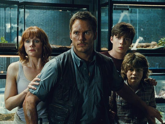 """Jurassic World"" is among the summer movies that'll have free showings next month in New London."