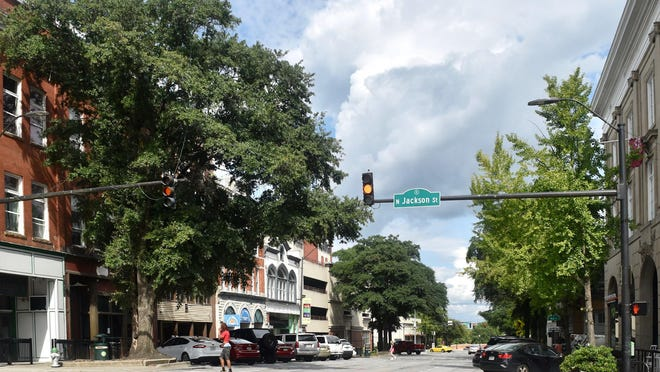 Trees will be removed as workers begin the next phase of the Clayton Street streetscape project, but they will be replaced.