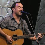 Dave Matthews Band performs at the Amphitheater at The Wharf in Orange Beach Tuesday night.  The band performed an acoustic set, featuring Emmylou Harris, first and then closed with a full electric set.