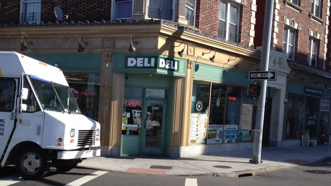 Madaba Deli at 330 Huguenot St. in New Rochelle. A deli clerk was shot in the leg during a robbery Oct. 24, 2013. A third suspect was arrested March 11, 2014. (