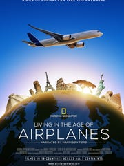 Airplanes logo poster