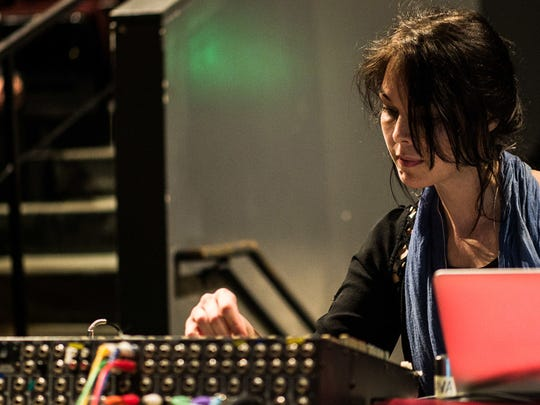 Electronic musician Olivia Block gives a concert Friday at Champlain College.