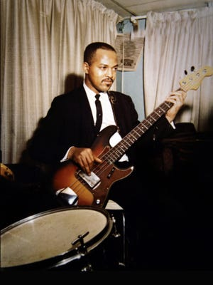 James Jamerson played on most Motown songs in the 1960s and '70s.