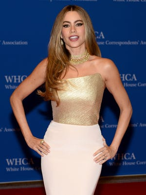WASHINGTON, DC - MAY 03:  Actress Sofia Vergara attends the 100th Annual White House Correspondents' Association Dinner at the Washington Hilton on May 3, 2014 in Washington, DC.  (Photo by Dimitrios Kambouris/Getty Images) ORG XMIT: 488380353 ORIG FILE ID: 488067565