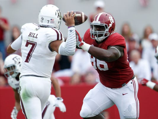 NCAA Football: Texas A&M at Alabama