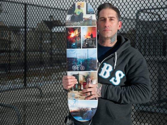 Camden photos find their way to skateboard