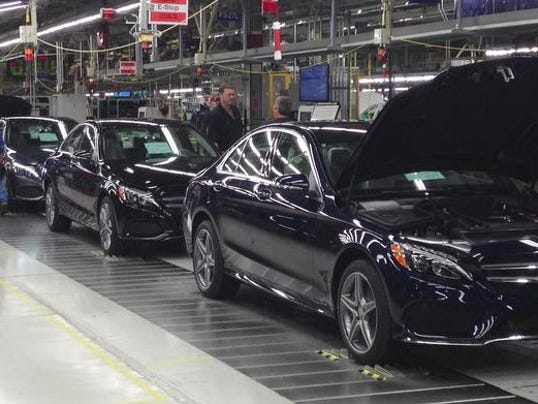 Mercedes benz to expand alabama plant build new suv next year for Mercedes benz montgomery alabama