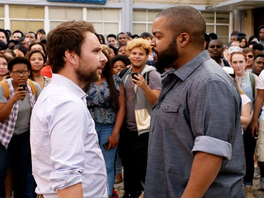 """Charlie Day and Ice Cube star in """"Fist Fight."""""""
