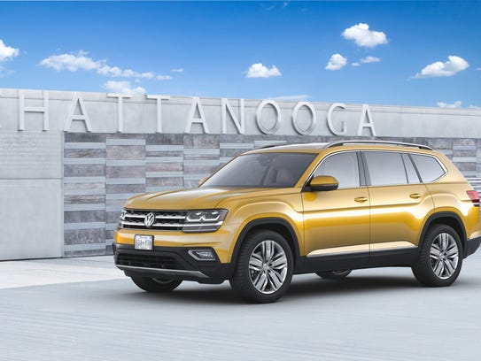 Volkswagen started production of the Atlas in December
