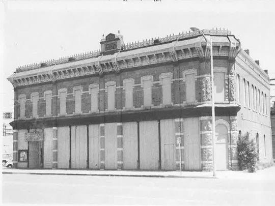 The Miller Block in an undated photo.