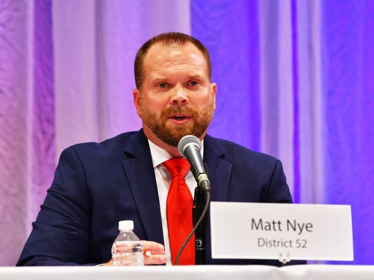 Matt Nye lost in his bid to to knock political veteran, Thad Altman, out of the GOP primary for the Florida House 52nd district.