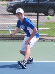 John Laskey of Highlands during the 10th Region Tournament.
