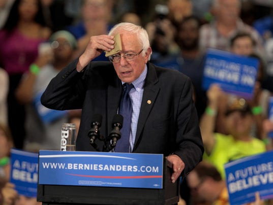 Bernie Sanders Holds Election Night Rally In West Virginia