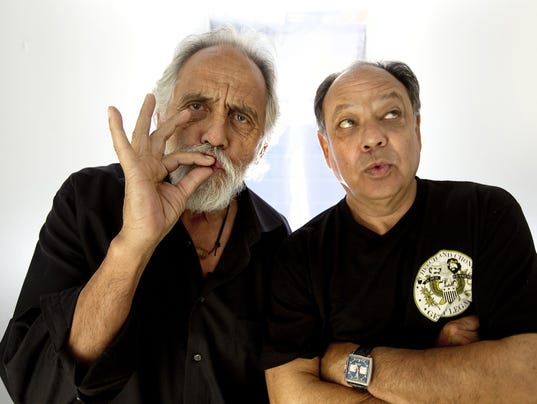 Tommy Chong looks back on the early bit - and all the pot he smoked