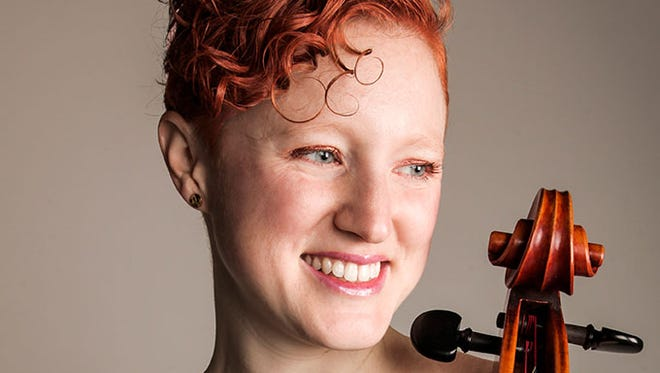Cellist Anna Burden is the featured soloist in the Aug. 9 concert for Peninsula Music Festival.