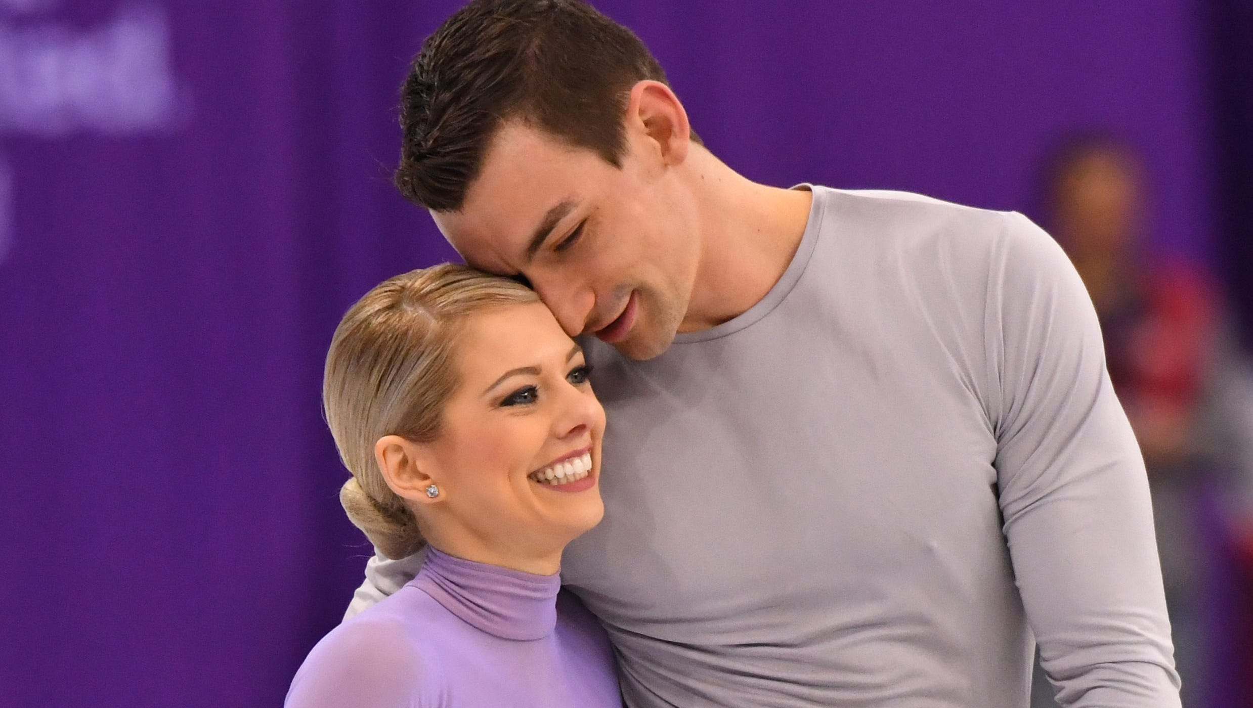 Figure skating: Married couple to spend Valentines Day on